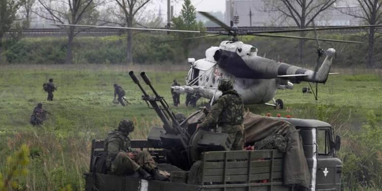 Raid des forces ukrainiennes pour reprendre Slaviansk