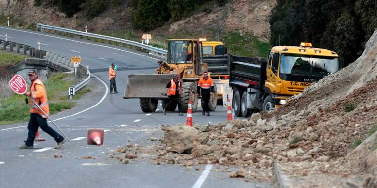 Fort séisme ressenti en Nouvelle-Zélande