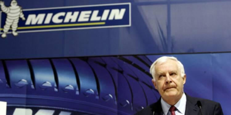 L'action Michelin recule après l'annonce d'une augmentation de capital de plus de 1,2 milliard d'euros