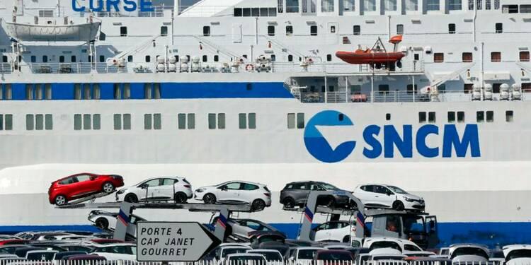 Heurts entre grévistes de la SNCM et professionnels en Corse