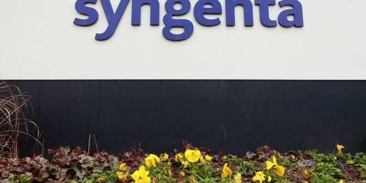 Syngenta publie un bénéfice 2013 en baisse de 11%