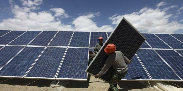 Accord entre Bruxelles et Pékin sur les panneaux solaires