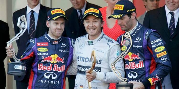 F1: Nico Rosberg remporte le Grand Prix de Monaco