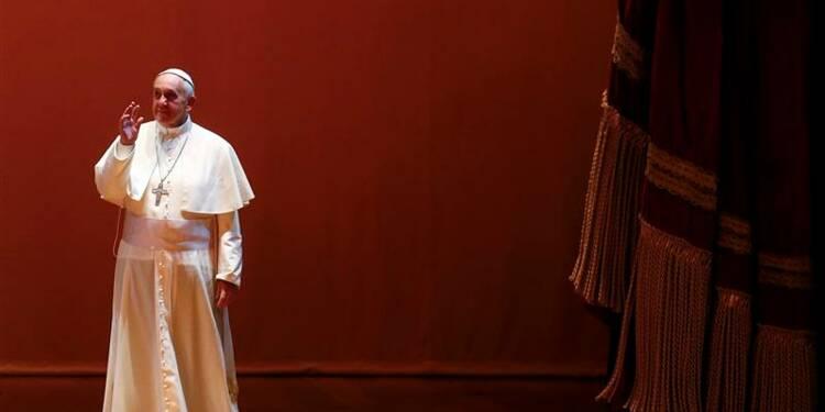 Le pape évoque la désaffection pour l'Eglise catholique