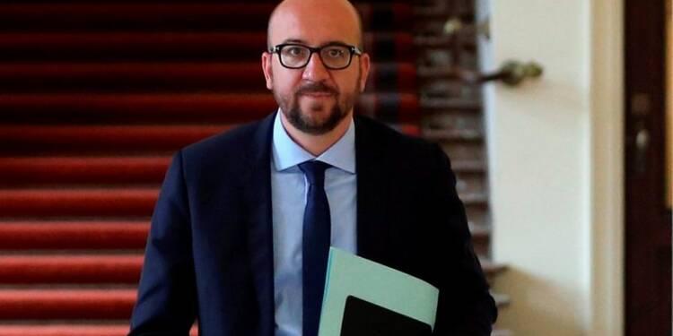 Le roi des Belges charge Charles Michel de former un gouvernement