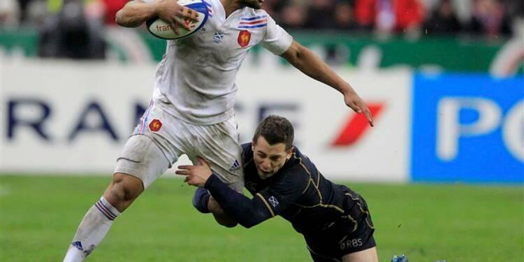 Six Nations: la France bat l'Ecosse (23-16) mais finit dernière