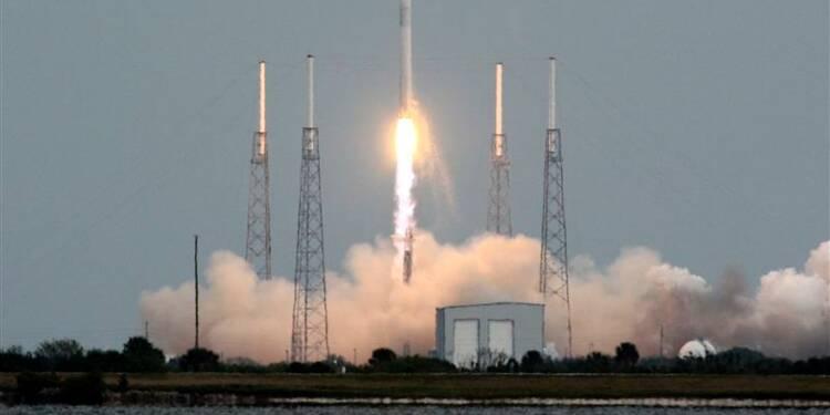 Une fusée SpaceX décolle avec une cargaison destinée à l'ISS