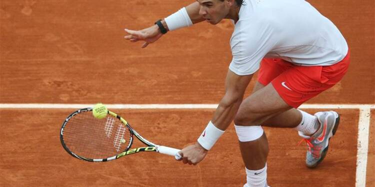 Roland-Garros: Nadal encore un peu long à la mise en route
