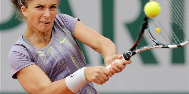 Roland-Garros: Sara Errani en huitièmes de finale