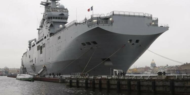 Le contrat de vente des Mistral à Moscou embarrasse Paris