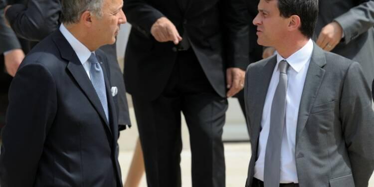 Laurent Fabius plus populaire que Manuel Valls, selon un sondage
