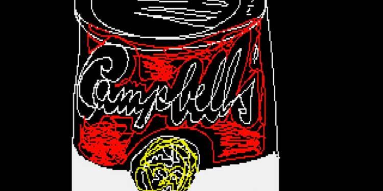 Réapparition, trente ans après, d'oeuvres numériques de Warhol