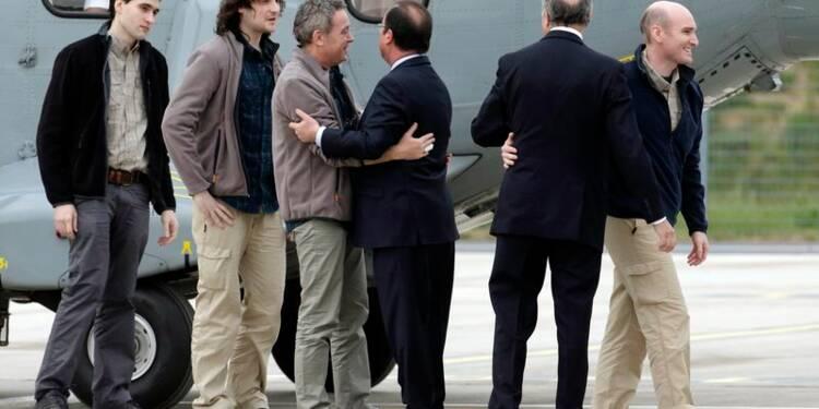 La France dément avoir payé une rançon pour ses otages en Syrie