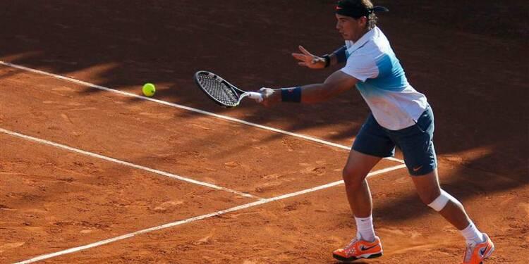 Tennis: Nadal vainqueur en double pour son retour sur les courts