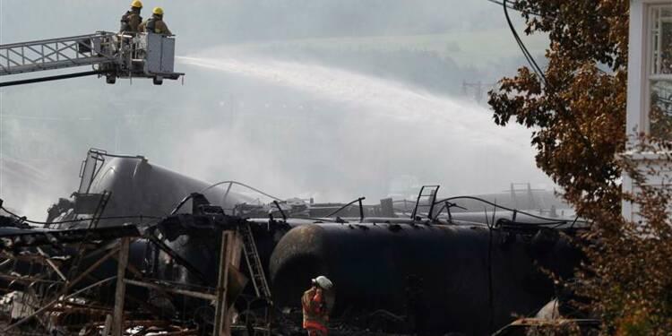 Explosion d'un train au Québec, bilan très lourd redouté