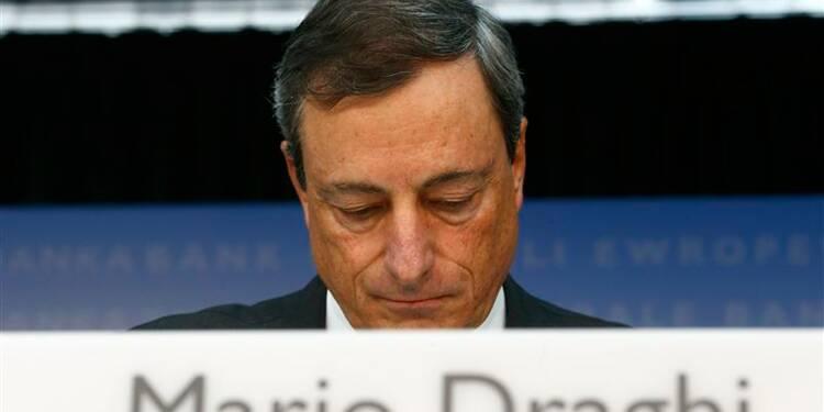 La BCE ne modifie pas sa politique monétaire