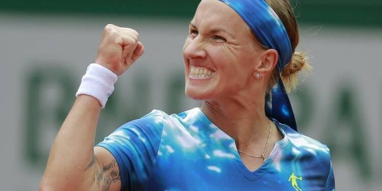 Roland-Garros: Kuznetsova passe en quart, en habituée oubliée