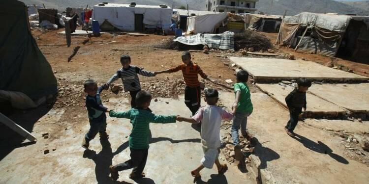 Le nombre d'enfants syriens réfugiés atteint un million