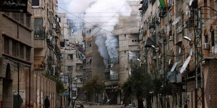 Offensive des insurgés à Damas, violents combats