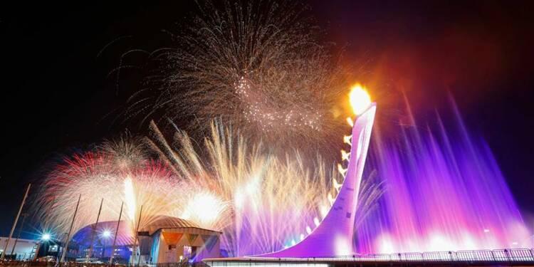JO:  Vladimir Poutine déclare les Jeux de Sotchi ouverts