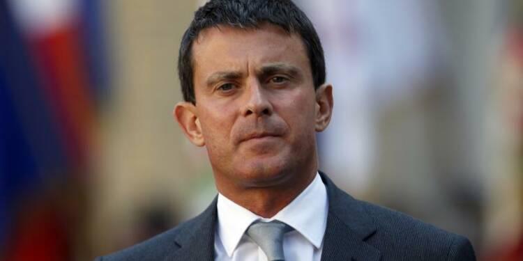 Manuel Valls vante son bilan devant les cadres policiers