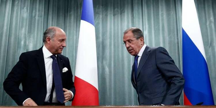 La Russie et la France affichent leurs divergences sur la Syrie