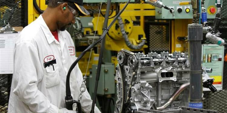 Accélération de l'activité manufacturière en mars aux USA