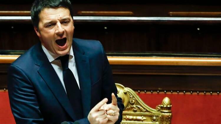 Matteo Renzi présente ses réformes au Sénat italien