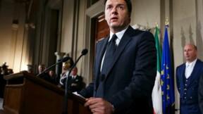 Matteo Renzi présente son nouveau gouvernement en Italie