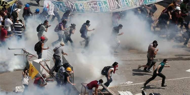 La police turque dégage à nouveau la place Taksim
