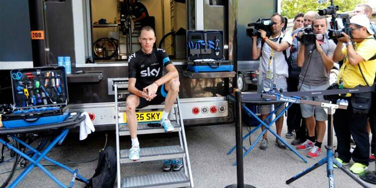 Tour de France: l'équipe Sky prête à collaborer avec l'Ama