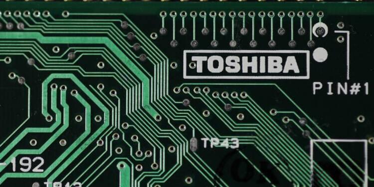Toshiba anticipe une hausse de 34% de son bénéfice annuel