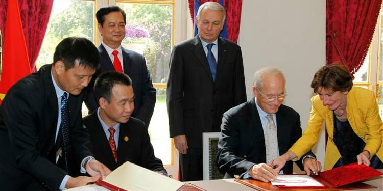 Paris fête son partenariat vietnamien avec 92 Airbus