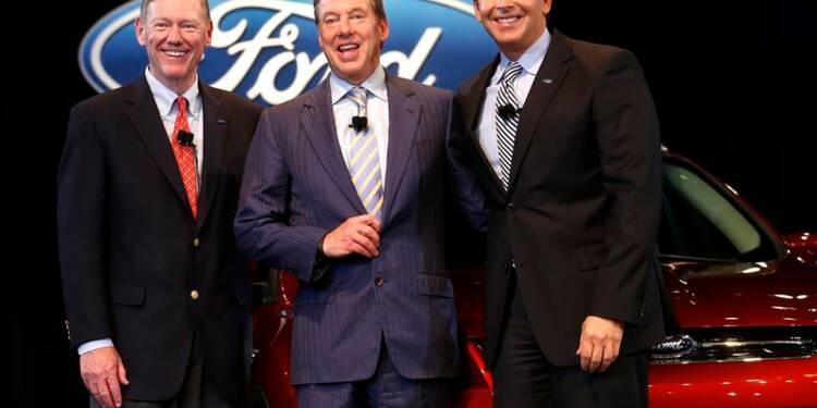 Quelques mois après GM, Ford change de directeur général