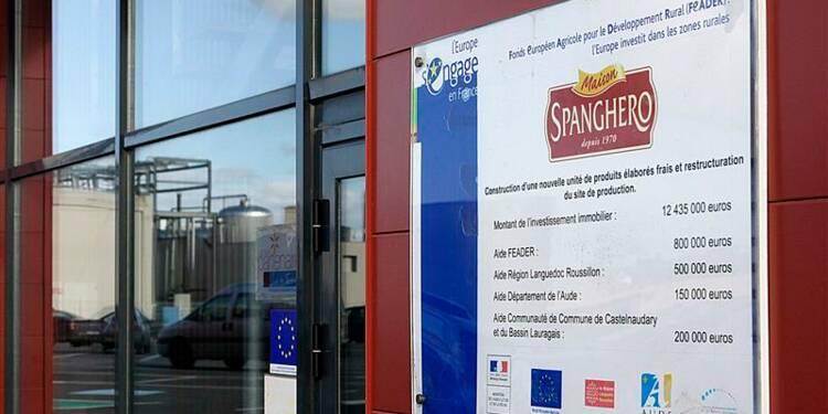 Investigations judiciaires en cours à l'usine Spanghero