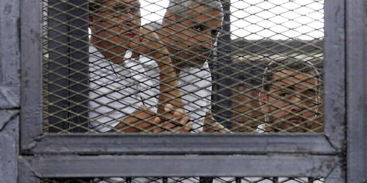 Lourdes peines en Egypte pour les reporters d'Al Djazira