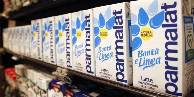 Hausse du résultat brut de Parmalat au premier semestre
