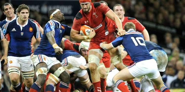 Rugby: le XV de France s'incline 27-6 au Pays de Galles