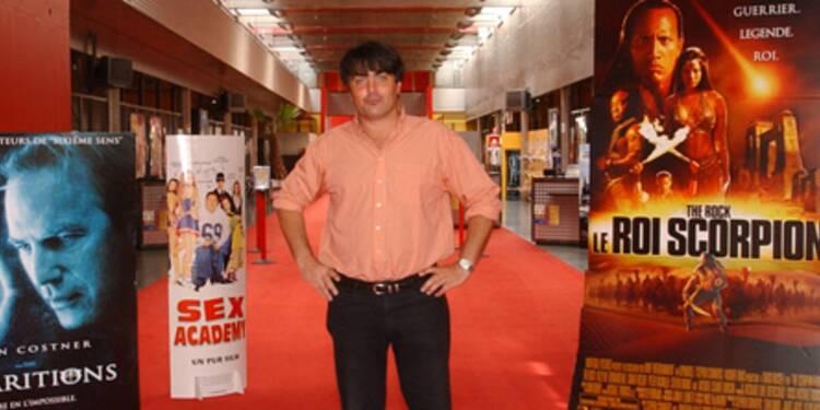 Philippe Dejust, fondateur de Cap'Cinéma, tisse sa toile en province