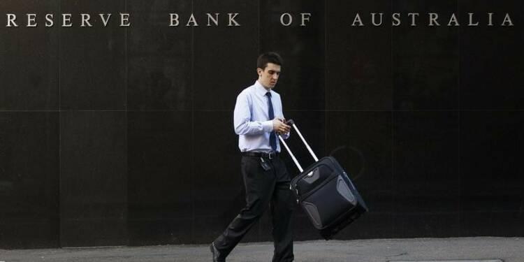 La Banque de Réserve d'Australie maintient ses taux comme prévu