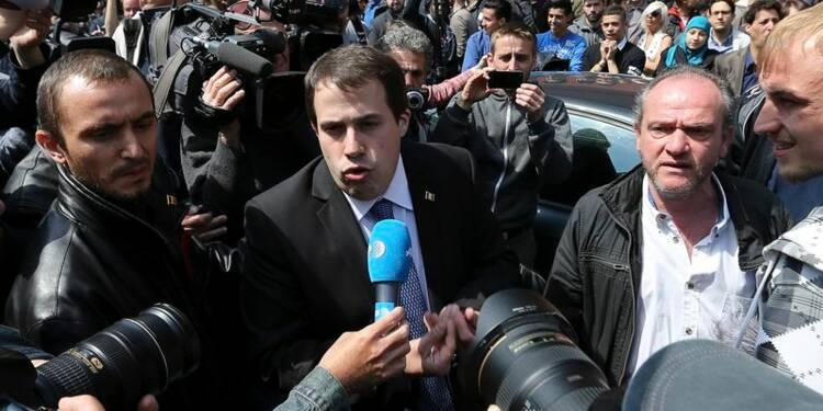 Interdiction d'un congrès jugé antisémite à Bruxelles, incidents