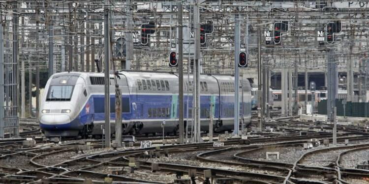 Un TGV pris d'assaut dans la périphérie de Marseille