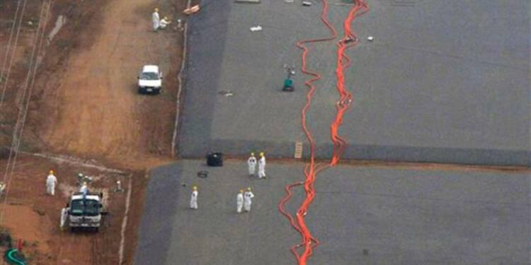 Nouvelle fuite d'eau radioactive à la centrale de Fukushima