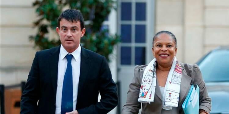 Un affrontement Valls-Taubira à haut risque pour Hollande