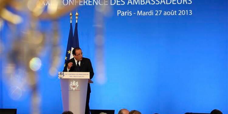 Paris prendra ses responsabilités face à la crise syrienne