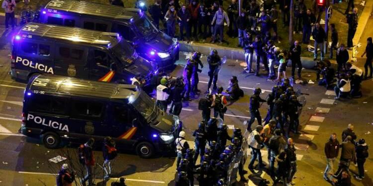 Grande manifestation à Madrid contre l'austérité
