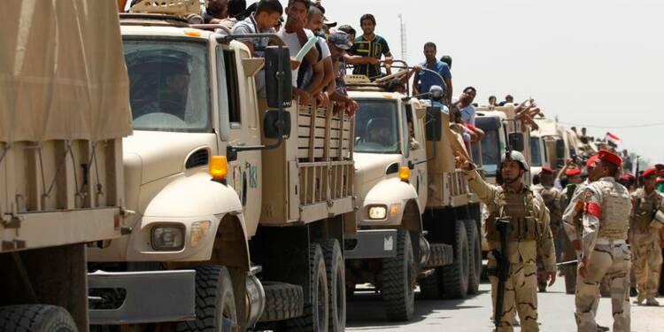 La marche des rebelles sunnites ralentie par l'armée irakienne