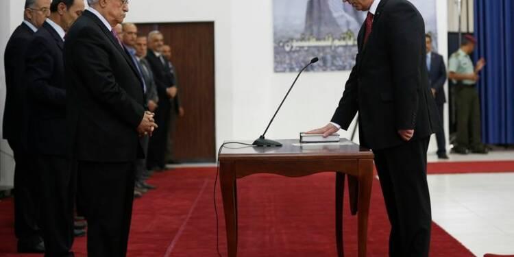 Le gouvernement d'union nationale palestinien a prêté serment
