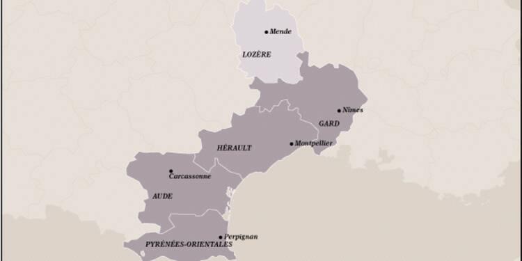 Languedoc-Roussillon (9ème) : toujours attractive malgré la forte hausse du chômage