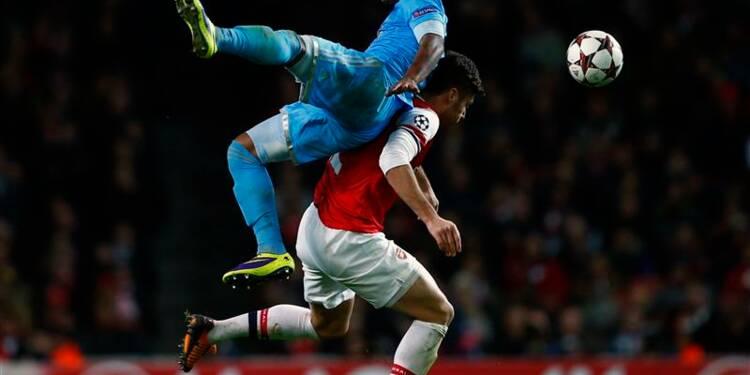 Ligue des champions: l'OM s'incline 2-0 sur le terrain d'Arsenal